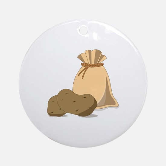 Potato Bag Ornament (Round)