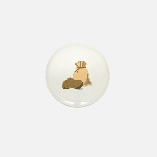 Potato Bag Mini Button