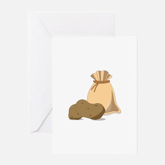 Potato Bag Greeting Cards