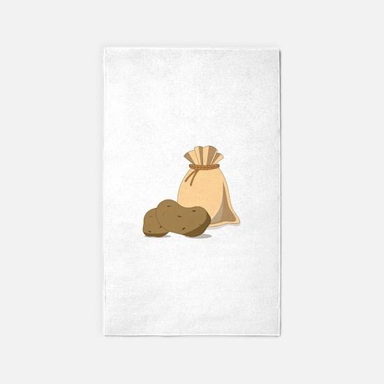 Potato Bag 3'x5' Area Rug