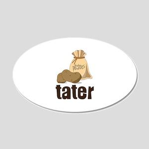 potatoes tater Wall Decal