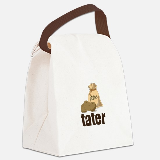 potatoes tater Canvas Lunch Bag