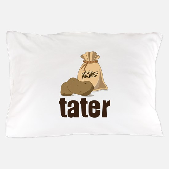 potatoes tater Pillow Case