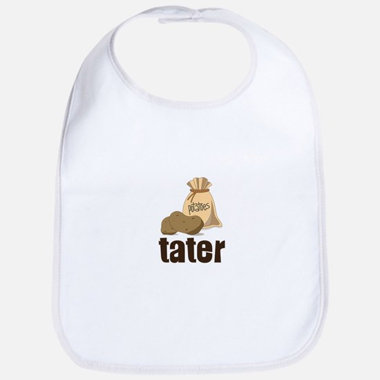 potatoes tater Bib