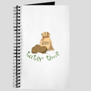 Potatoes tater time Journal