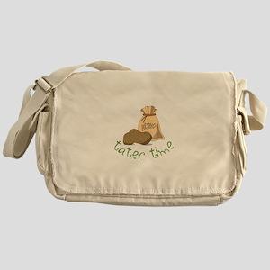 Potatoes tater time Messenger Bag