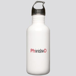 Phinished, PhD graduate Water Bottle