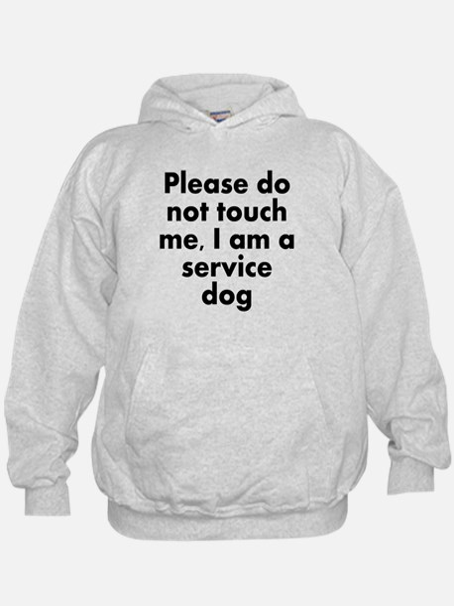I Am A Service Dog Hoodie