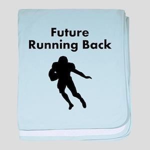Future Running Back baby blanket