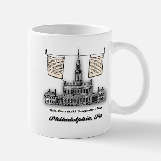 Philadelphia Landmarks – Independence Hall ca.1754