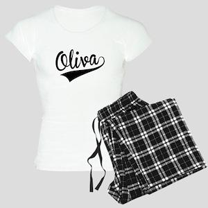 Oliva, Retro, Pajamas