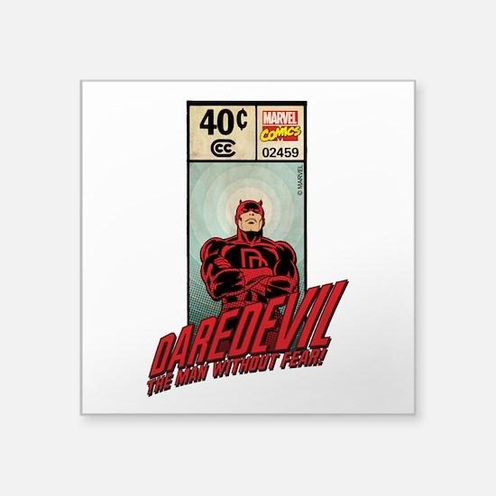 """Daredevil Masthead Square Sticker 3"""" x 3"""""""