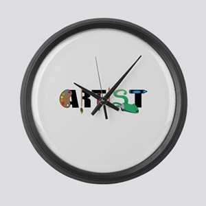 Artist Large Wall Clock