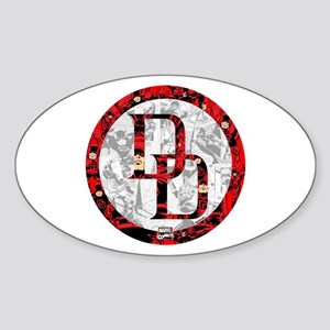 Daredevil Symbols Sticker (Oval)