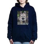 Emma Cairn Terrier 1 Women's Hooded Sweatshirt