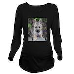 Emma Cairn Terrier 1 Long Sleeve Maternity T-Shirt