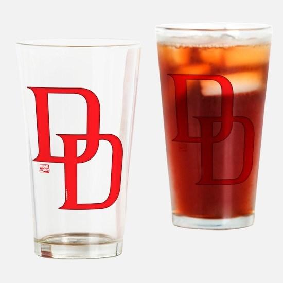 Daredevil Symbols 2 Drinking Glass