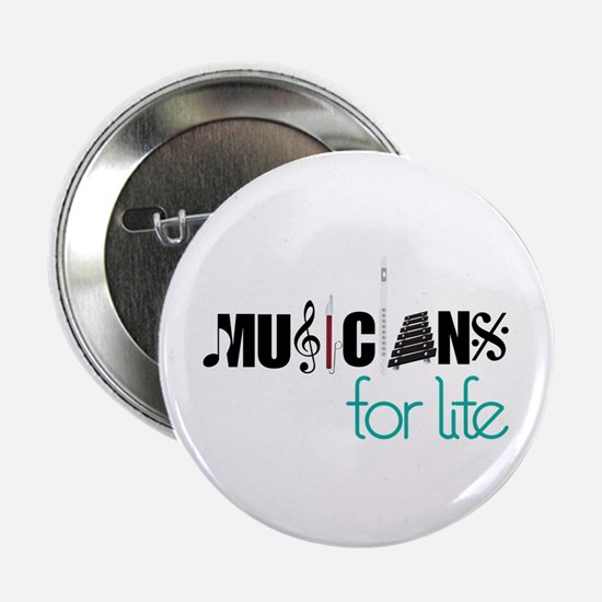 """Musicians For Life 2.25"""" Button"""
