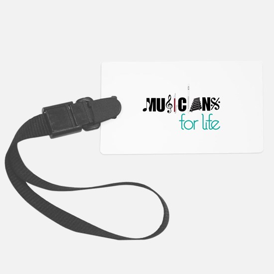 Musicians For Life Luggage Tag