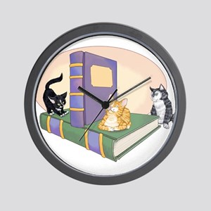 Kittys Tale Wall Clock