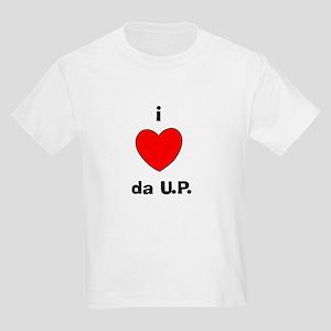 I Love da U.P. Kids T-Shirt