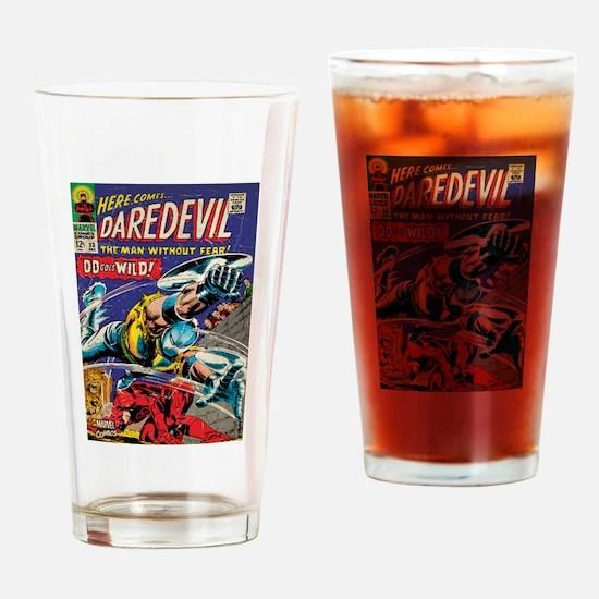 Daredevil Comic Book 23 Drinking Glass