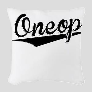 Oneop, Retro, Woven Throw Pillow