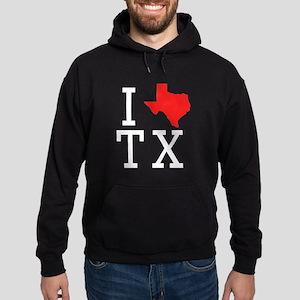 I Heart Texas Hoodie