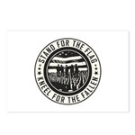 Kneel For The Fallen Postcards (Package of 8)