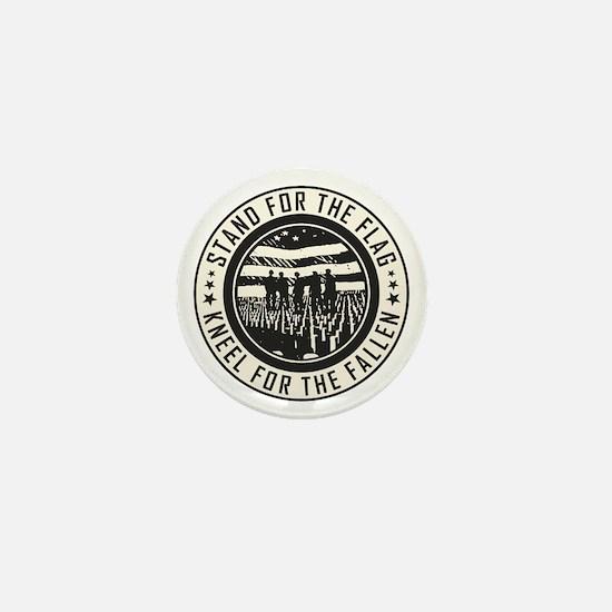 Kneel For The Fallen Mini Button