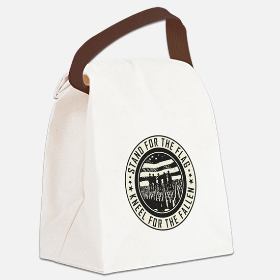 Kneel For The Fallen Canvas Lunch Bag