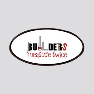 Builders Measure Twice Patches