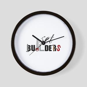 Set Builders Wall Clock