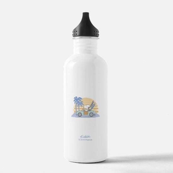Snoopy Beach Water Bottle