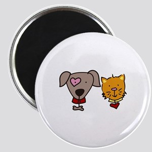 Dog and cat Magnets