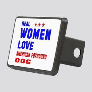 Real Women Love American f Rectangular Hitch Cover