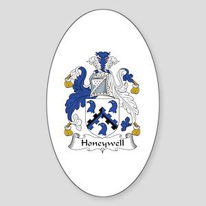 Honeywell Oval Sticker