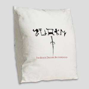 Butch Ol Burlap Throw Pillow