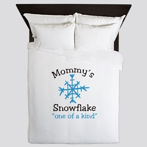 Mommys Snowflake Queen Duvet