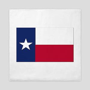 Flag of Texas Queen Duvet