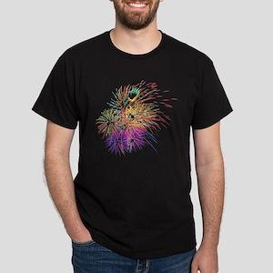 Colorful Fireworks - Patriotic Celebration T-Shirt
