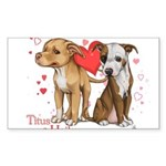 Titus and Hailey Sticker