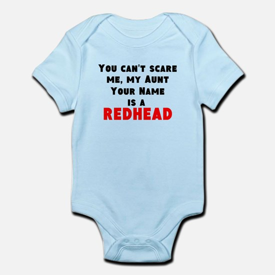My Aunt (Your Name) Is A Redhead Body Suit