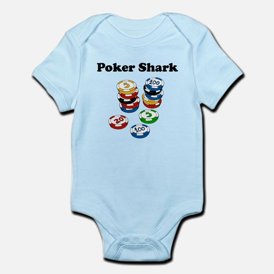 Poker Shark Body Suit