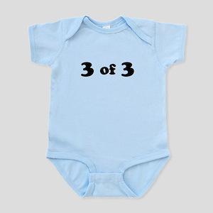3 of 3 (Third Child) Body Suit
