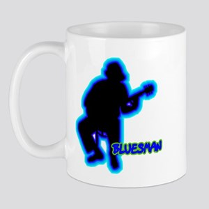 Silhouettes Bluesman Mug