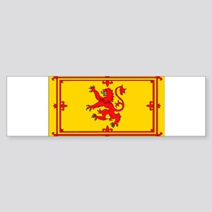 Scottish Royal Rampant Lion Bumper Sticker