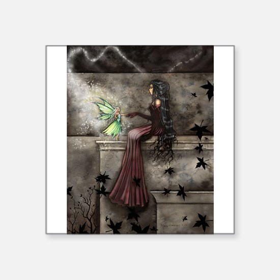 Little Hope Fairy Gothic Fantasy Art Sticker