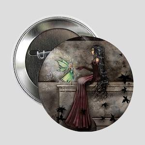 "Little Hope Fairy Gothic Fantasy Art 2.25"" Button"