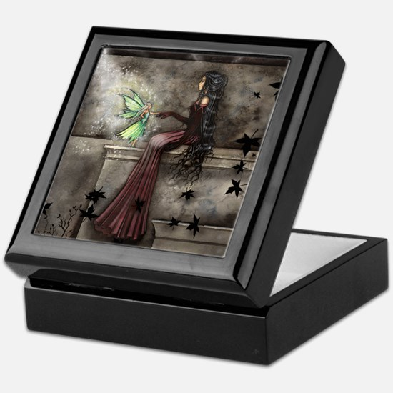 Little Hope Fairy Gothic Fantasy Art Keepsake Box